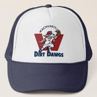 Logo van het Team van het Honkbal van Dawgs van Trucker Pet