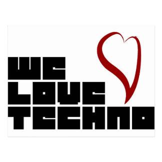 Logotipo-wij-liefde-Techno Briefkaart