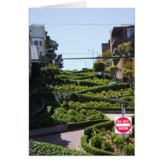 Lombard St San Francisco Kaart
