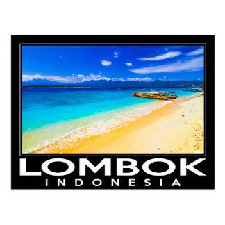 Lombok Indonesië Briefkaart