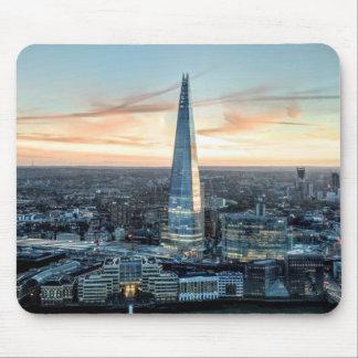 Londen bij Zonsondergang Muismat