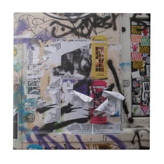 Londen Graffiti Tegeltje