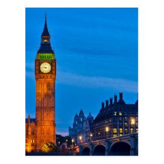 Londen - het Verenigd Koninkrijk Briefkaart