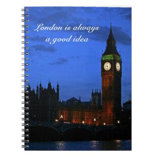 Londen is altijd een goed idee notitieboek