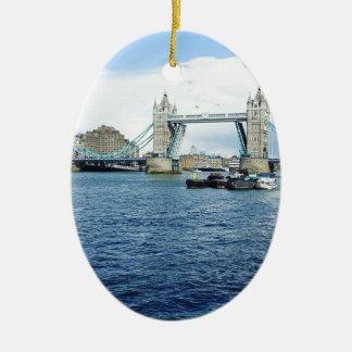 Londen Keramisch Ovaal Ornament