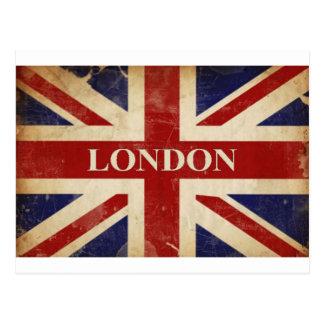Londen - Union Jack - de Liefde Londen van I Briefkaart