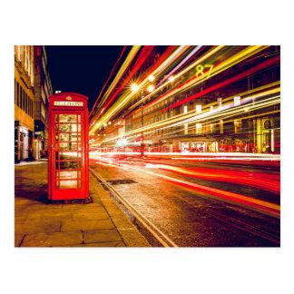 London phonebooth briefkaart