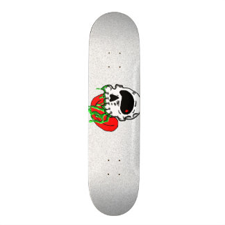 LooneySkull-vergift 21,6 Cm Old School Skateboard Deck