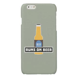 Looppas op Bier Z7ta2 Glossy iPhone 6 Hoesje
