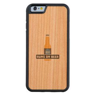 Looppas op Bier Z7ta2 Kersen iPhone 6 Bumper Case
