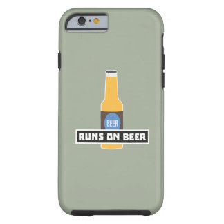 Looppas op Bier Z7ta2 Tough iPhone 6 Hoesje