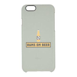 Looppas op Bier Zmk10 Doorzichtig iPhone 6/6S Hoesje