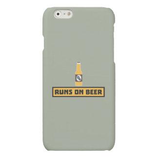 Looppas op Bier Zmk10 iPhone 6 Hoesje Mat