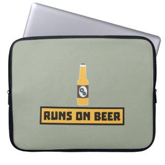 Looppas op Bier Zmk10 Laptop Sleeve