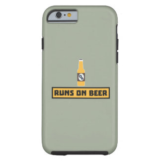 Looppas op Bier Zmk10 Tough iPhone 6 Hoesje