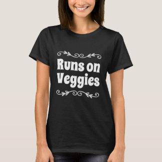 Looppas op veggies t shirt