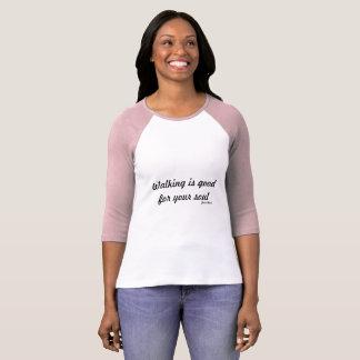 Lopen t-Shirt~ die is goed voor uw ziel lopen T Shirt