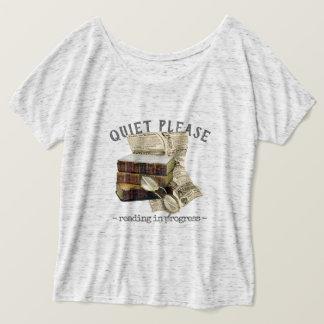 Lopend lezen t shirt