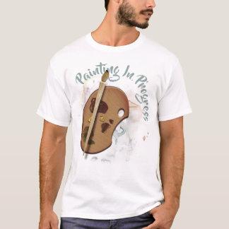Lopend Schilderen van het Palet van kunstenaars T Shirt