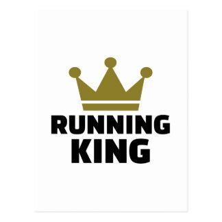 Lopende Koning Briefkaart
