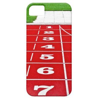 Lopende Stegen op iPhone 5 van het Spoor hoesje-Pa Barely There iPhone 5 Hoesje
