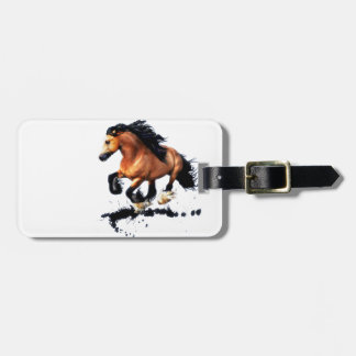 Lord Creedence Gypsy Vanner Horse Kofferlabel