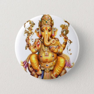 LORD GANESH HINDOESE GOD RONDE BUTTON 5,7 CM