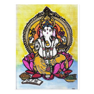 Lord Ganesha Briefkaart