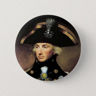 Lord Horatio Nelson Ronde Button 5,7 Cm