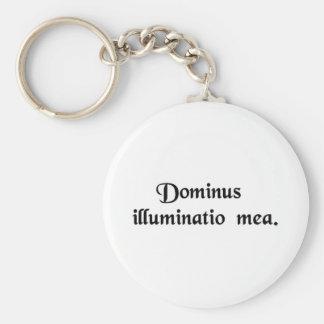 Lord is mijn licht sleutelhanger