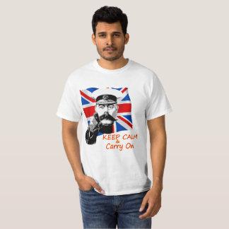 Lord Kitchener Keep Calm & draagt T Shirt