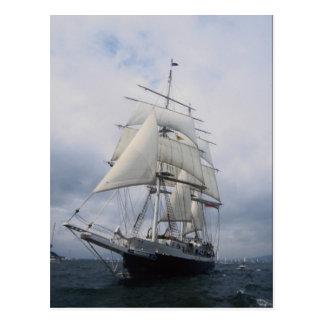 """Lord Nelson"""", lang schip Briefkaart"""
