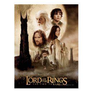 Lord van de Ringen: Het poster van de Film van Briefkaart