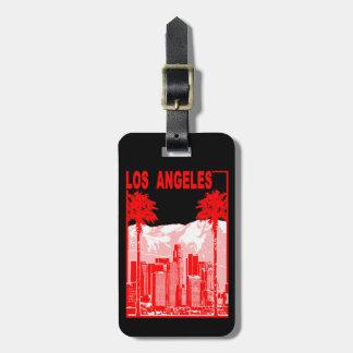 Los Angeles Kofferlabel