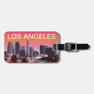 Los Angeles van de binnenstad - Klantgericht Kofferlabel