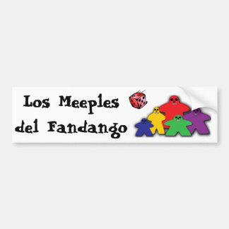 Los Meeples del Fandango Bumpersticker
