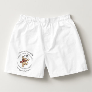 Lotta Slots Boxer Shorts voor man en vrouw