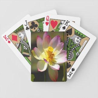 Lotus Bicycle Speelkaarten