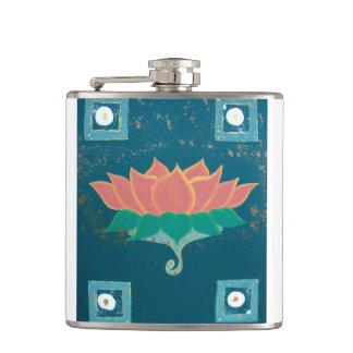 Lotus die Gedrukte Fles schilderen Heupfles