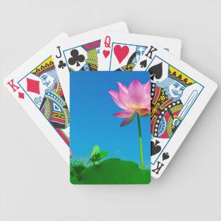 lotusbloem bicycle speelkaarten