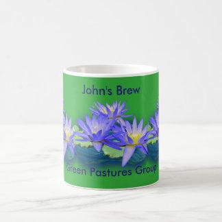 lotusbloem bloemen koffiemok