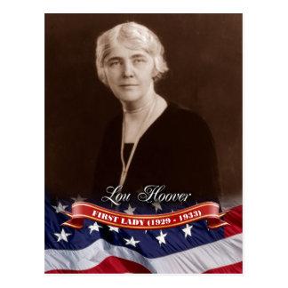 Lou Hoover, Presidentsvrouw van de V.S. Briefkaart
