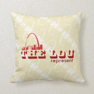 Lou St.Louis vertegenwoordigt Sierkussen