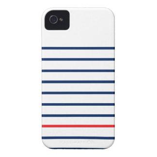 Louis Stripes Iphonecase (nauwelijks daar Hoesje) iPhone 4 Hoesje