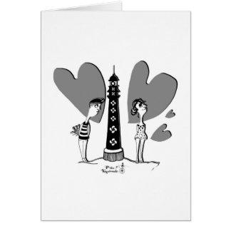 Love in Biarritz Briefkaarten 0