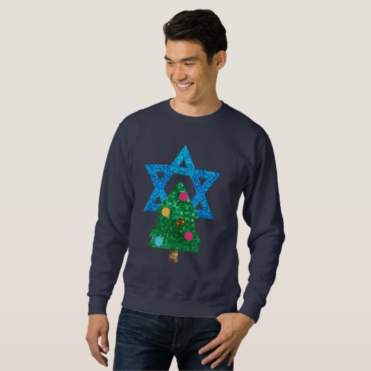 lovertje christmukkah hanukkah mannen sweatshirt