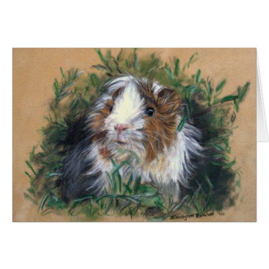 Lovin' lavender Guinea Pig / Cavia Kaart