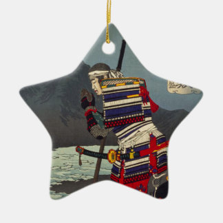 Loyale Samu - Tsukioka Yoshitosh Keramisch Ster Ornament