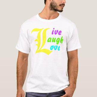 Ls ~ van het leven het Hoofd LEVENDE Ontwerp van T Shirt