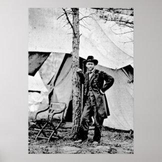 Lt. General Ulysses S Grant Poster